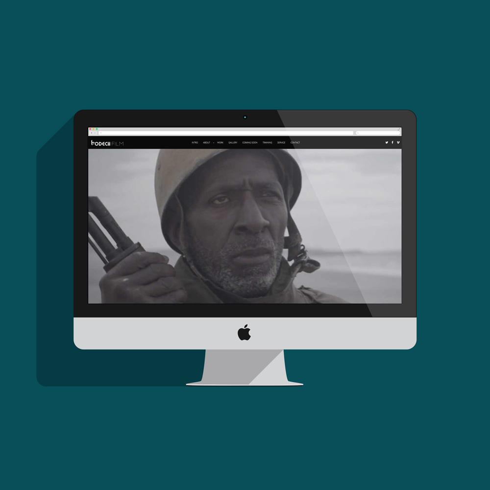 Shane Cullen Website Design